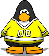 Yellow Hockey Jersey PC