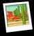 Desert Plane Background Icon