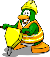 Hard Hat and Safety Vest Penguin Style Jan'18