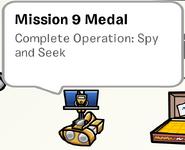 Mission 9 Medal SB