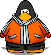 Orange Snowsuit 2