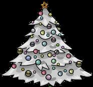 Silver Holiday Tree sprite 002