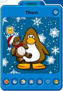 Thorn Player Card - Mid January 2019 - Club Penguin Rewritten (4)