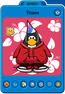 Thorn Player Card - Early February 2020 - Club Penguin Rewritten