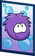 Purple Puffle Poster sprite 003