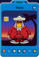Thorn Player Card - Late March 2020 - Club Penguin Rewritten