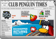 Club Penguin Times Issue 3