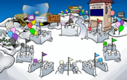 Puffle Party 2017 Snow Forts