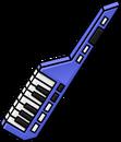 Purple Keytar