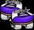 Purple Rollerskates