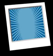 Blue Starburst Background Icon