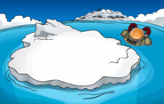 Earthquake Iceberg