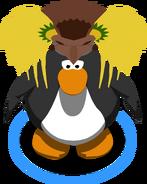 Pineapple Headdress IG