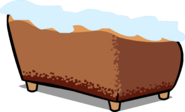 Gingerbread Couch Sprite 006