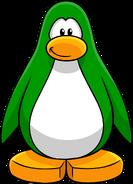Green Create Penguin