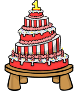 1st Anniversary Party Cake