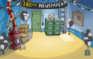 150th Newspaper Event Boiler Room