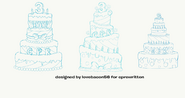 3rd Anniversary Cake Concepts