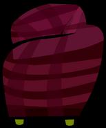 Burgundy Couch sprite 003