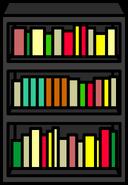 Black Bookcase sprite 003