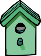 Green Birdhouse sprite 002
