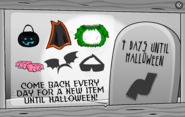 Halloween Party Interface Day 4