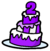 2nd Anniversary Cake Pin