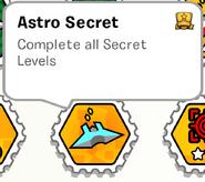 Astro secret stamp book