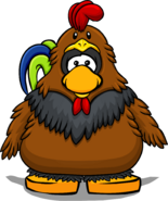 Rooster Costume PC