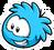 Blue Puffle Pin