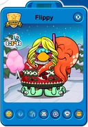 Flippy Player Card - Mid February 2019 - Club Penguin Rewritten