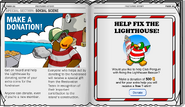 Lighthouse Donation Club Penguin Times