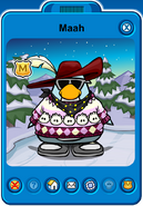 Maah Player Card - Late February 2020 - Club Penguin Rewritten (2)