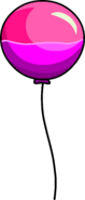 Puffle Launch Pink Balloon