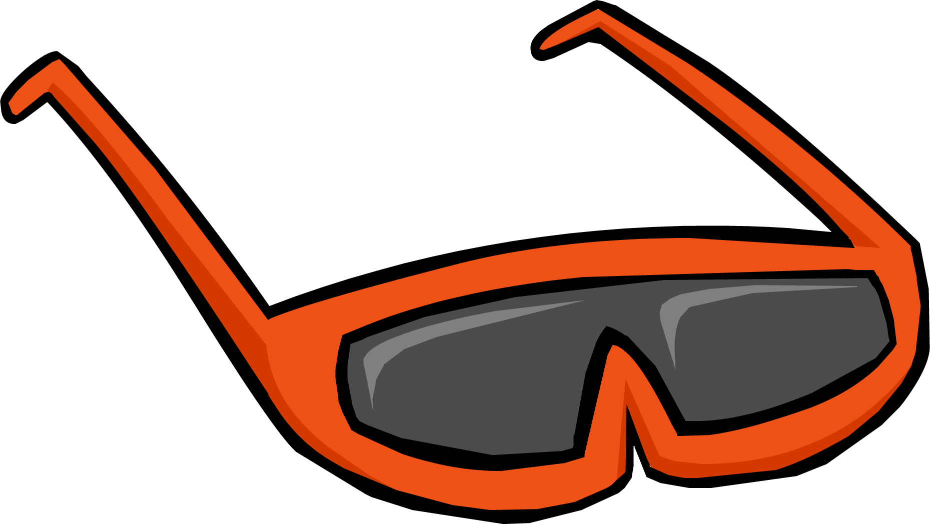 Orange Sunglasses | Club Penguin Rewritten Wiki | Fandom