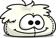 White Puffle Bean Bag sprite 001