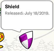 Shield Pin SB