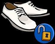 White Dress Shoes Unlockable