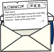 Cool Gift Letter Opened