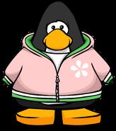 Daisy Zippered Hoodie PC