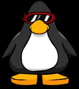 Red Ski Goggles PC