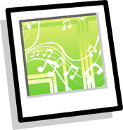 The Melody Background Icon