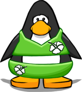 Green Flower Bikini PC