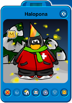 Halopona Player Card - Mid January 2020 - Club Penguin Rewritten (2)