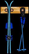 Ski Rack Blue