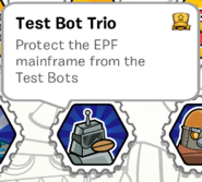 Test bot trio stamp book