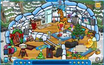 DomiDsLP Holiday Party 2019 Igloo