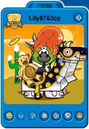 Lily8763cp Player Card - Late January 2019 - Club Penguin Rewritten (2)