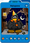 Halopona Player Card - Early October 2019 - Club Penguin Rewritten (2)