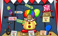 The Fair 2018 Prize Booth Puffle Circus Entrance